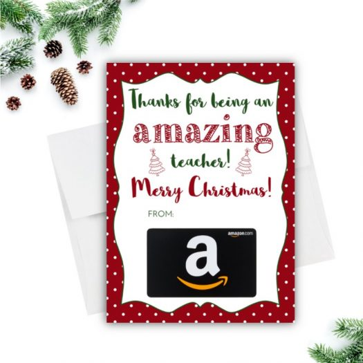 Amazon Christmas Gift Card Holder