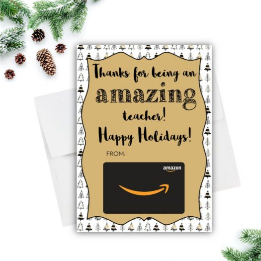 Amazon Christmas Tree Gift Card Holder