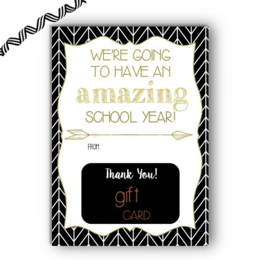 Amazon Back to School Gift Card Holder