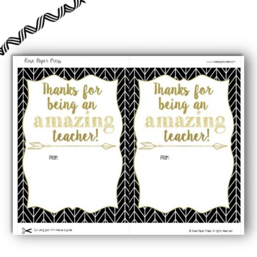 Amazon Teacher Appreciation Gift Card Holder
