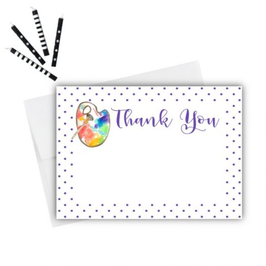 Art Thank You Card