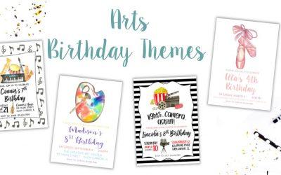 Creative Arts Birthday Ideas