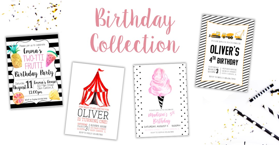 New Birthday Collection is Here!