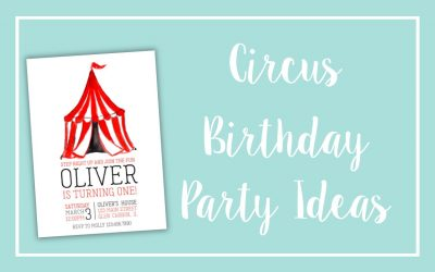 Circus and Carnival Birthday Ideas
