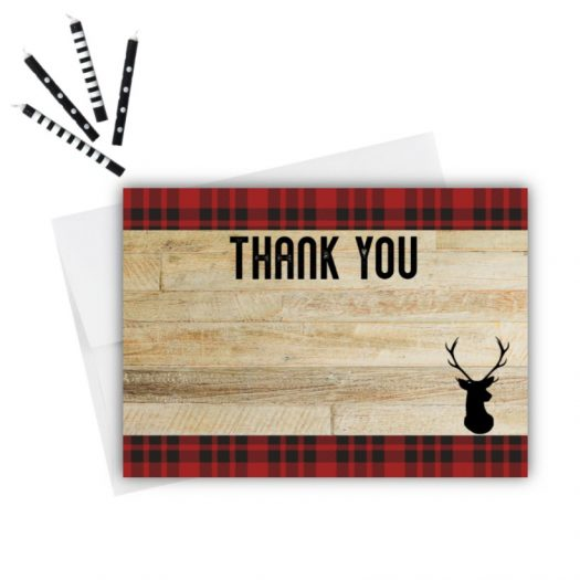 Deer Thank You Card