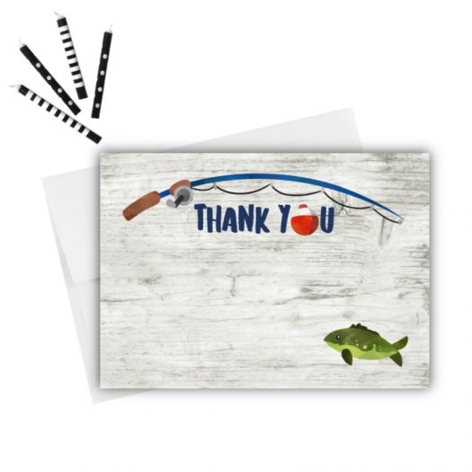 Fishing Thank You Card