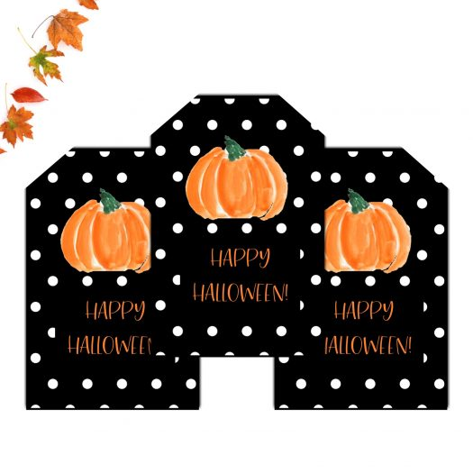 Happy Halloween Favor Tags