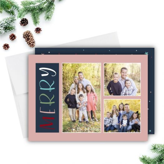 Merry Holiday Photo Card