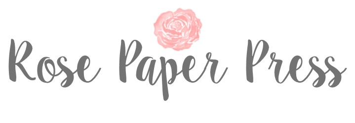 Invitations, Moving Announcements, Gift Card Holders and more | Rose Paper Press