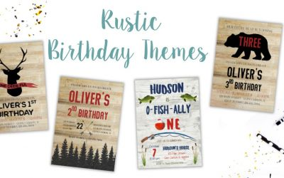 Rustic Birthday Party Ideas