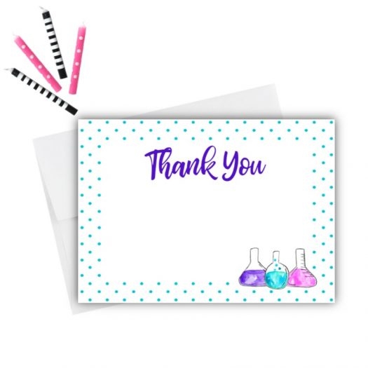 Science Thank You Card