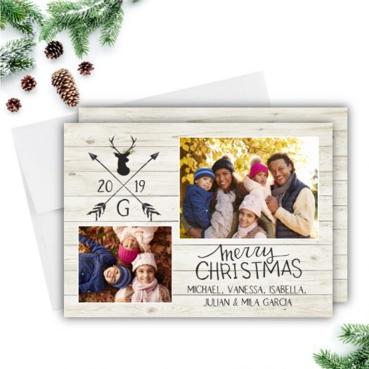Shiplap Christmas Card