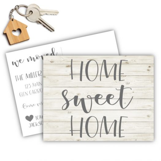 Shiplap Moving Postcard