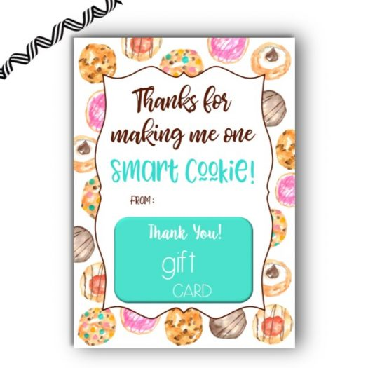 Smart Cookie Gift Card Holder