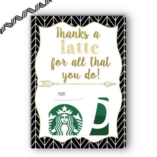 Starbucks Gift Card Holder