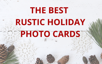 The Best Rustic Christmas Photo Cards