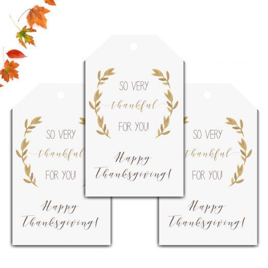 Thanksgiving Favor Tag
