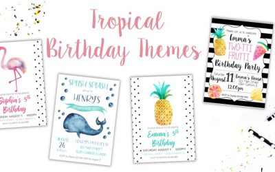 Summer Birthday Party Themes