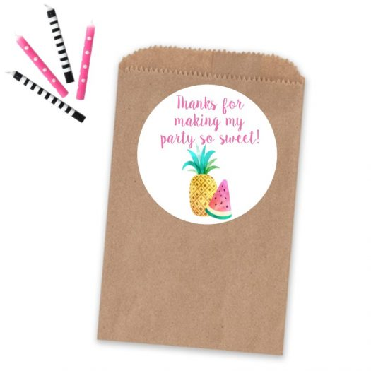 Twotti Frutti Sticker